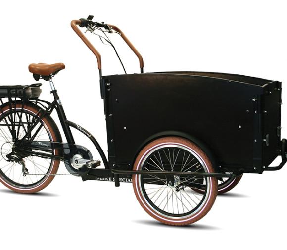 E-Bike Speciaal 7sp. derailleur Mat zwart, Bruin, Zilver1699,/=