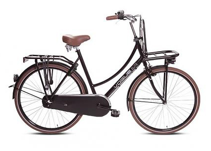 RAM Tweewielers - Meidenfiets bruin