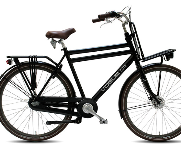 Elite 3 sp. Rollerbrake50,57 cm Man Mat zwart, Mat bruin 499,/=INRUIL -50 EURO