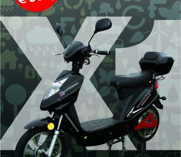 proLithium 'X1′ elektrische scooter (25km/h)