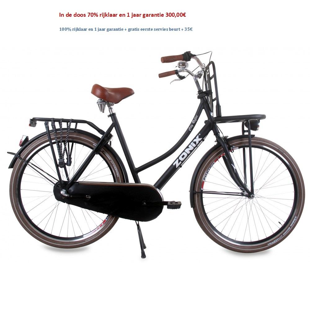 Zonix City Reflex 28 inch Mat Zwart 50,57cm 300,00€