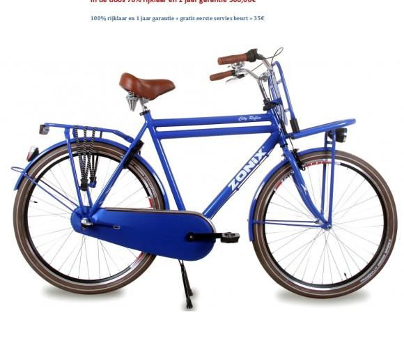Zonix City Reflex 28 inch Jeans blauw 50,57,61cm here