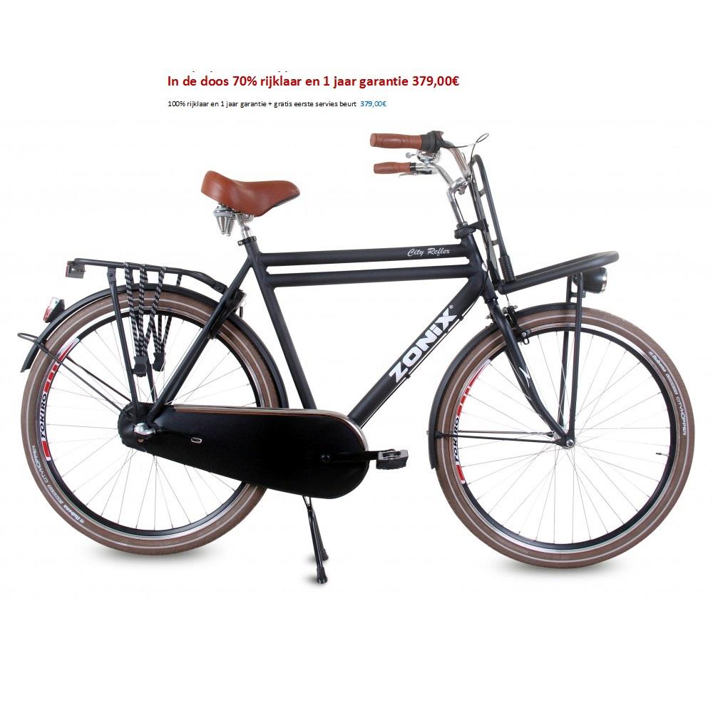 Zonix City Reflex 28 inch Mat zwart 61 cm heren 379,00€