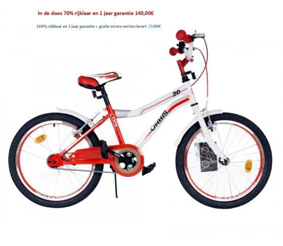 Zonix Jongensfiets 20 inch Cool wit-Blauw,Cool wit-groen,Cool wit-rood 140,00€