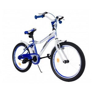 Cool Jongensfietsen 20 inch wit - blauw 20042-1-1000x1000