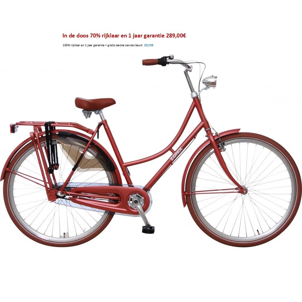 Zonix Daily dutch 28 inch blauw,bruin,groen,rood, zwart 289,00€