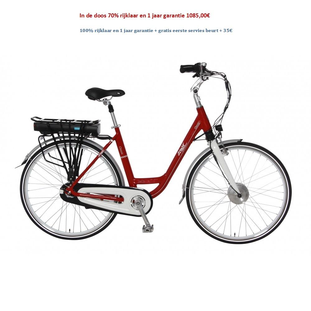 Zonixd Elektrische Fiets Classic 7 Versnellingen Nexus Shimano 1085,00€
