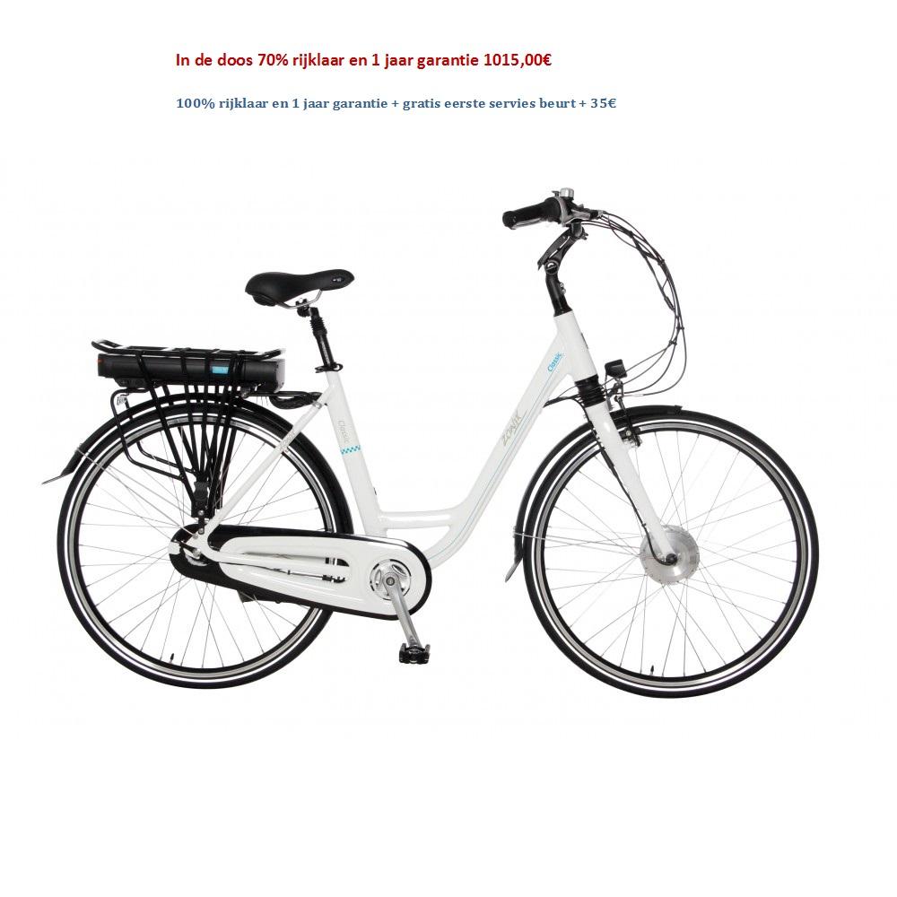 Zonix Elektrische Fiets Classic 3 Versnellingen Nexus Shimano 1015,00€