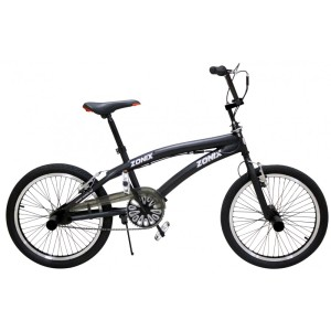Free Style BMX 20 inch Matzwart-1000x1000