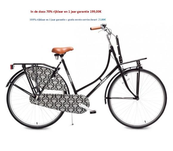 Zonix City light 28 inch Creme,Mat Zwart,Zwart, Design 199,00€