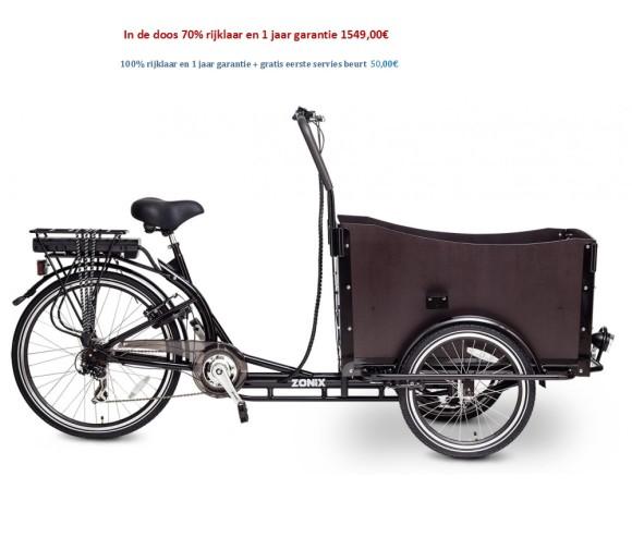 Elektrische Bakfiets 6 Versnellingen Shimano  1549,00€