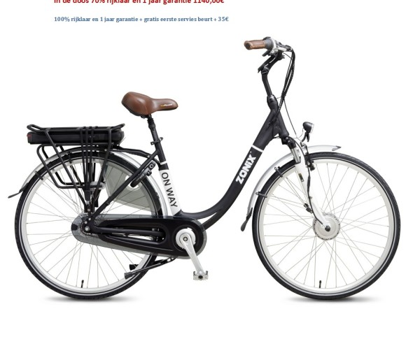 On Way Elektrische Fiets 7 Versnellingen Nexus Shimano 1140,00€