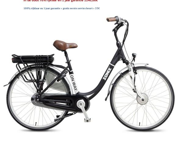 On Way Elektrische Fiets 7 Versnellingen Nexus Shimano 1140,00€