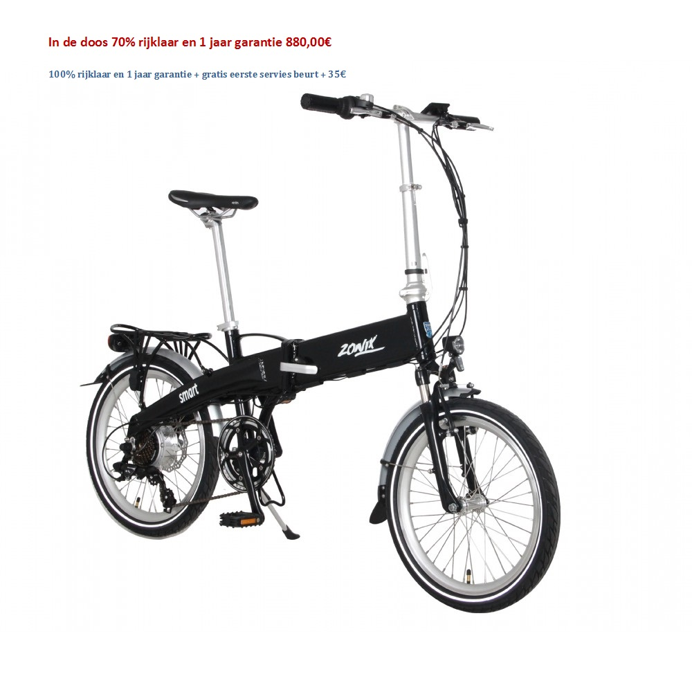 Electric vouwfiets 7 Speed Nexus Shimano 880,00€