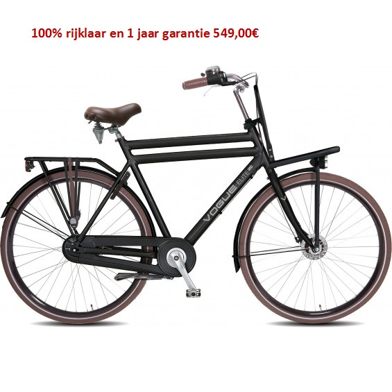 Vogue Elite Plus Shimano Nexus 8 speed gratis eerste servies beurt  549,00€