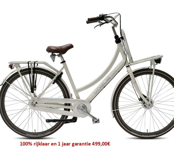 Vogue Elite Plus Shimano Nexus 7 speed gratis eerste servies beurt 499,00€