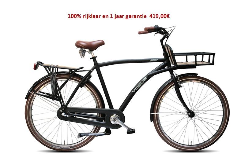 Vogue Jumbo Shimano 3 speed gratis eerste servies beurt  419,00€