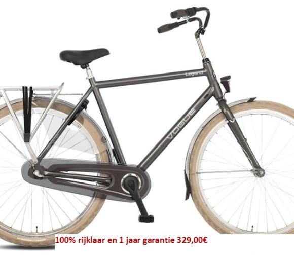 Vogue Legend Shimano (Nexus) 3 speed gratis eerste servies beurt  329,00€