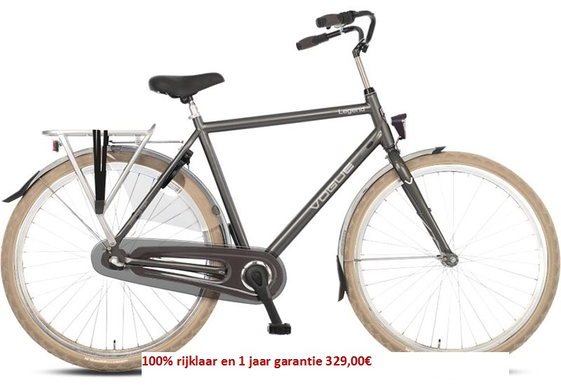 Vogue Legend Shimano (Nexus) 3 speed gratis eerste servies beurt  329,00€