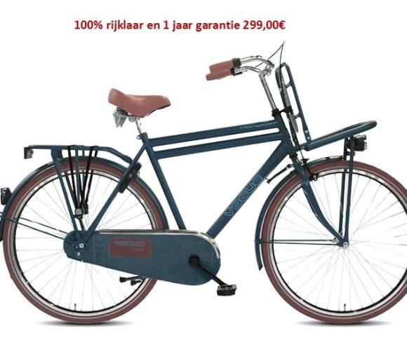 Vogue Transporter 100% rijklaar en 1 jaar garantie + gratis eerste servies beurt   299,00€