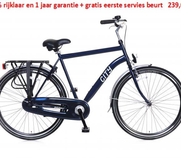 City 1 speed 100% rijklaar en 1 jaar garantie + gratis eerste servies beurt   239,00€