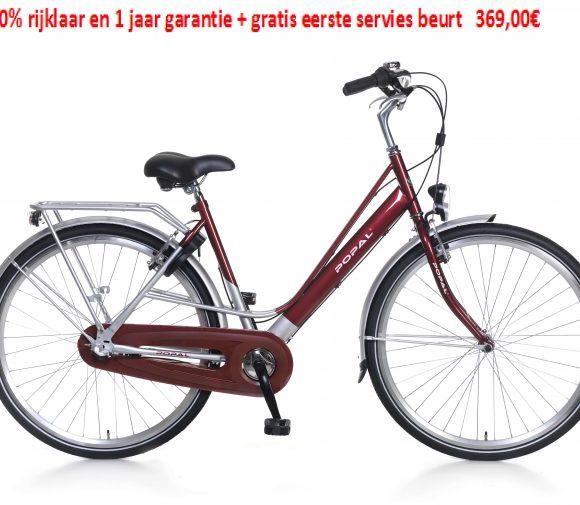 City Classic Freewheel Shimano Nexus3 speed 100% rijklaar en 1 jaar garantie + gratis eerste servies beurt   369,00€