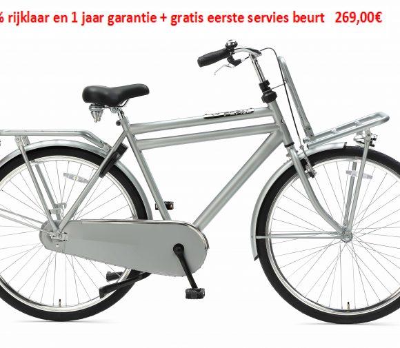 Daily Dutch Basic 28 -1speed 100% rijklaar en 1 jaar garantie + gratis eerste servies beurt   269,00€