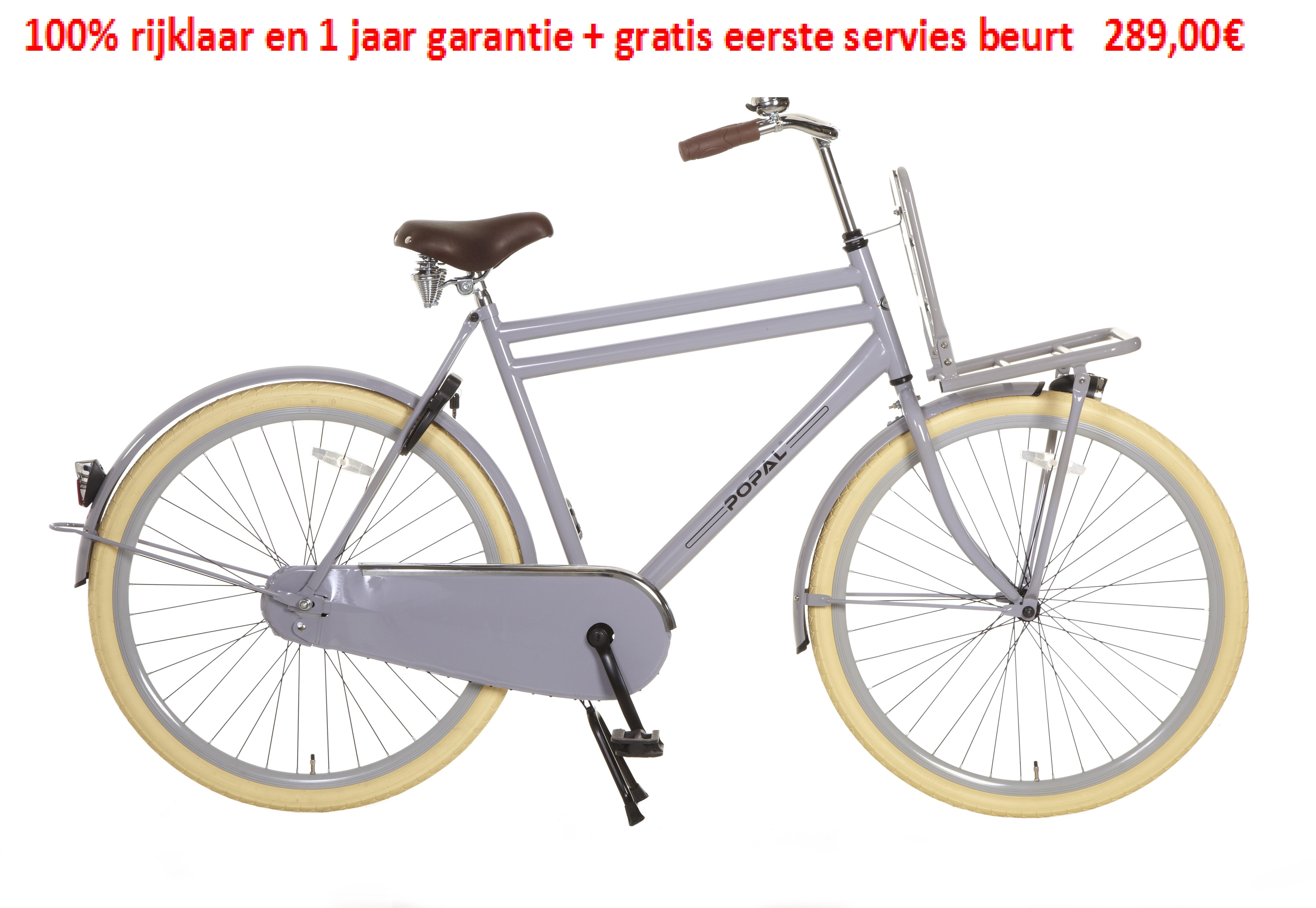 Urban Basic 1 speed 100% rijklaar en 1 jaar garantie + gratis eerste servies beurt   289,00€