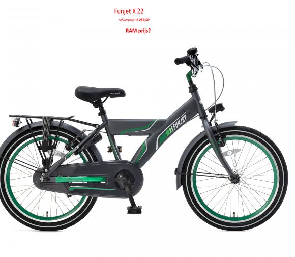 Funjet X 22 Adviesprijs: € 259,00   RAM prijs?