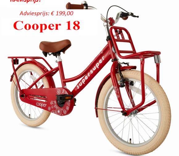 Cooper 18     Adviesprijs: € 199,00         RAMsprijs?