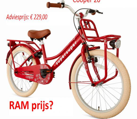 Cooper 20        Adviesprijs: € 229,00       RAM prijs?