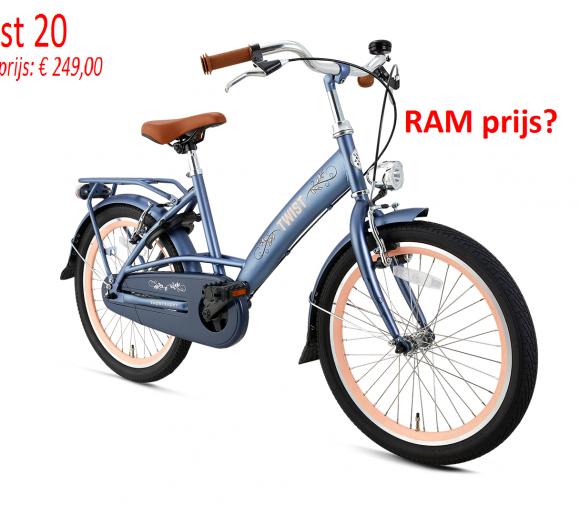 Twist 20     Adviesprijs: € 249,00      RAM prijs?