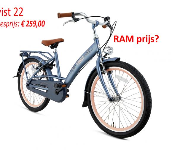 Twist 22 Adviesprijs: € 259,00   RAM prijs?