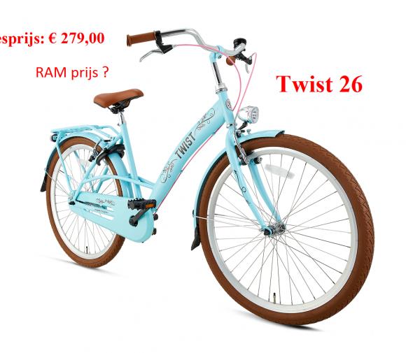 Twist 26      Adviesprijs: € 279,00            RAM prijs ?
