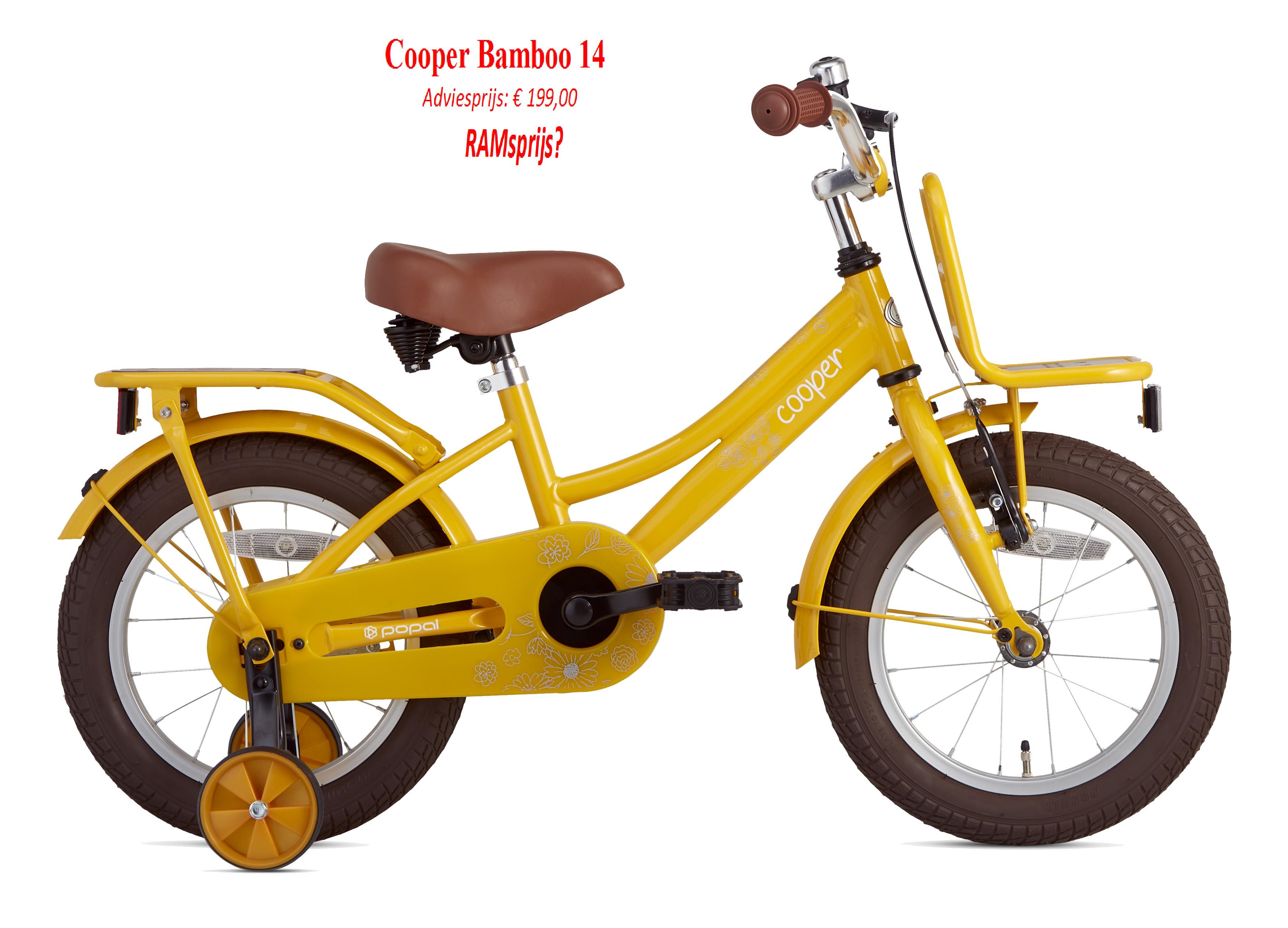 Cooper Bamboo 14   Adviesprijs: € 199,00         RAMsprijs?