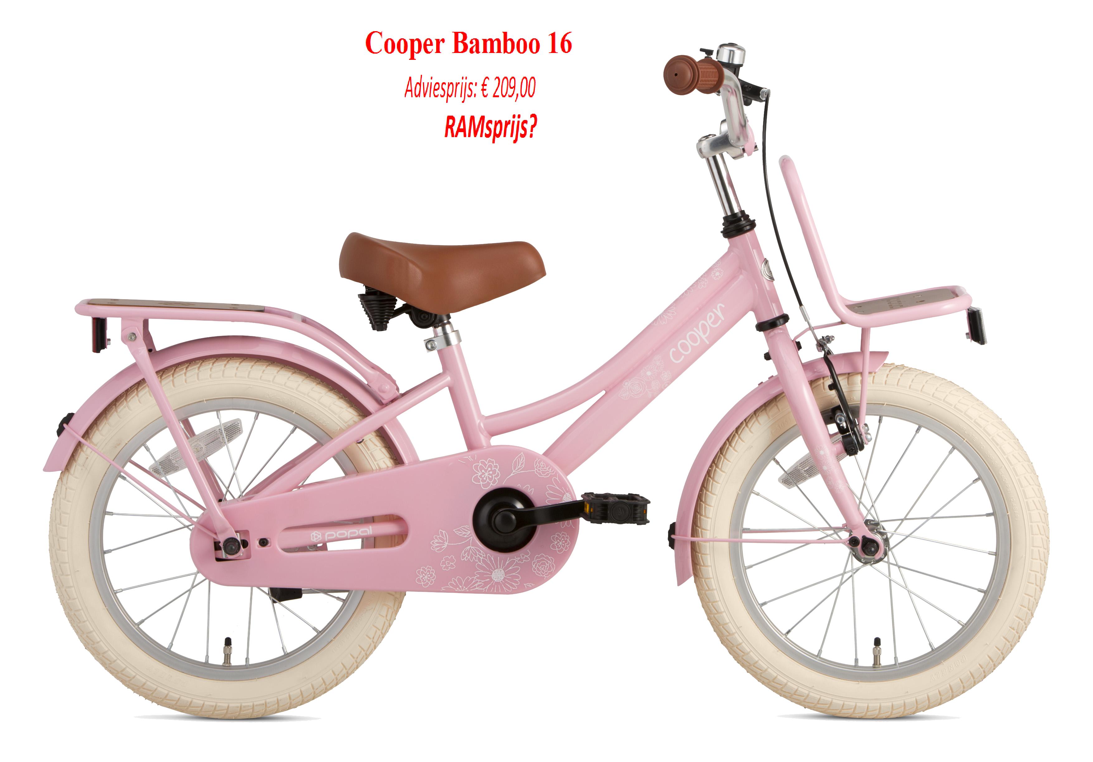 Cooper Bamboo 16   Adviesprijs: € 209,00       RAMsprijs?